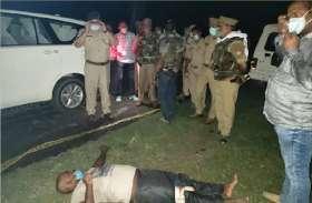 पूरे प्रदेश में सघन चेकिंग अभियान, वाहन चेकिंग के दौरान बोलेरो सवार युवकों ने पुलिस पर की फायरिंग