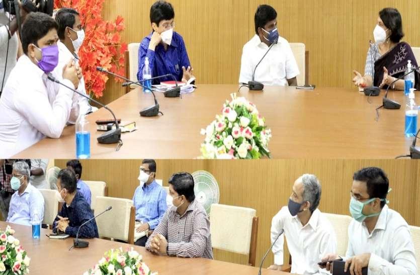 केंद्रीय टीम ने कियाचेन्नई स्थित कोविड-19 केंद्रों का दौरा, स्वास्थ्य मंत्री से की चर्चा