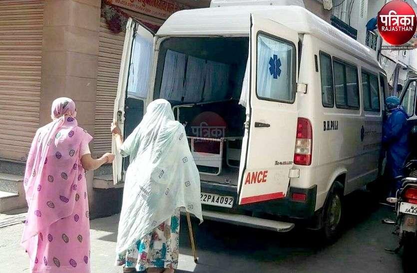 अनलॉक 2.0 में कोरोना हुआ बेकाबू, गांव-कस्बों में मिले 77 संक्रमित, पाली शहर बना हॉट स्पॉट
