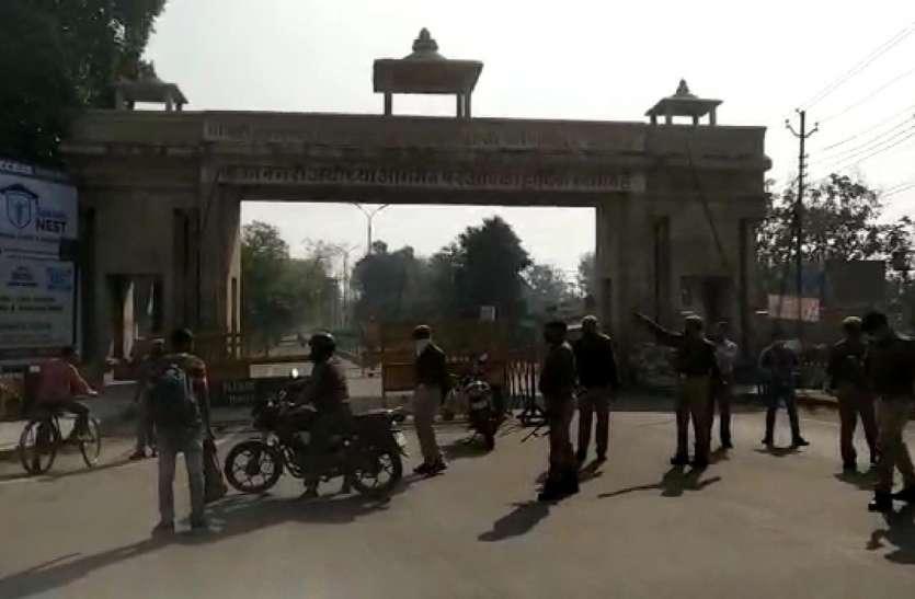 कानपुर घटना के बाद सतर्कता हुआ अयोध्या पुलिस