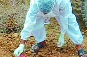 नवजात की मौत, शव दफनाया, फिर पुलिस ने यह किया