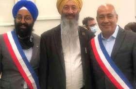 फ्रांस में जिन्हें पगड़ी के कारण स्कूल से निकाला गया था, वही रणजीत सिंह बने डिप्टी मेयर