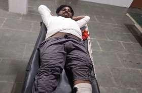 सुलतानपुर में मुठभेड़, 25 हजार रुपए का इनामी बदमाश घायल