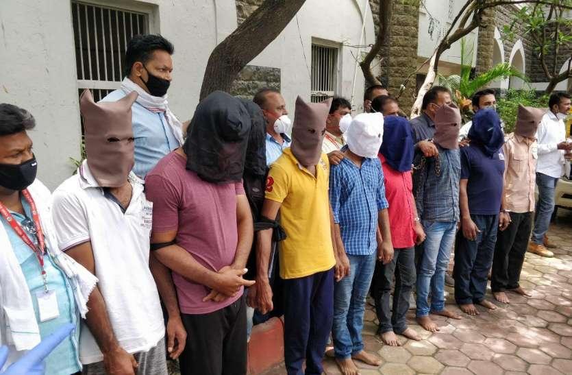 उषा नगर में हुई दिनदहाड़े लूट के आरोपियों को पुलिस ने किया गिरफ्तार