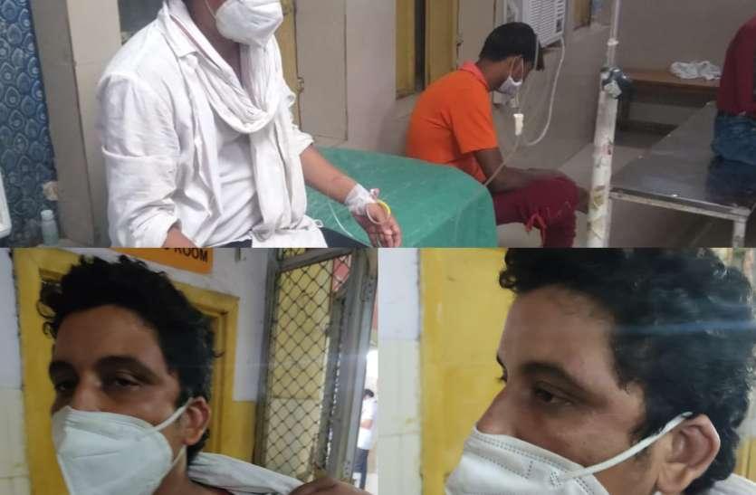 कानपुर के भाजपा पार्षद ने लगाया पुलिस पर मारपीट का आरोप