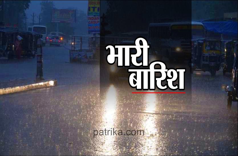 छत्तीसगढ़ के इन इलाकों में भारी बारिश की चेतावनी, मौसम विभाग ने जारी किया अलर्ट