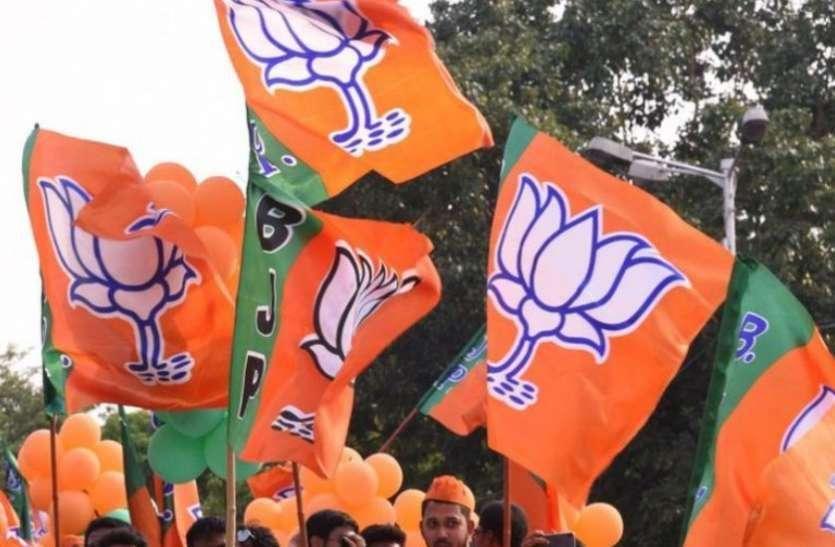 भाजपा के पांच मंडलों की कार्यकारिणी घोषित