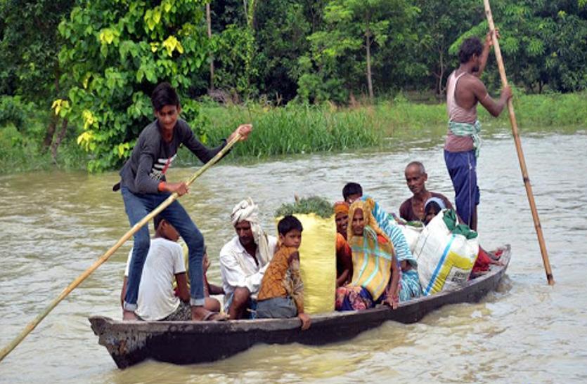 Coronavirus के साथ ही बिहार में बाढ़ का ऐसा कहर, बिमार को इलाज नहीं, परेशान को मदद नहीं