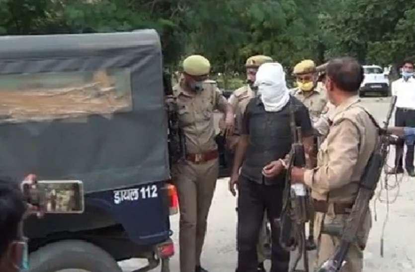 बिकरू घटना में नामजद 50 हजार का इनामी गिरफ्तार, घटना की रात की दास्तां की बयां