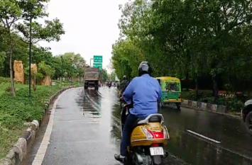 राजधानी जयपुर में बारिश ने बढ़ाई उमस