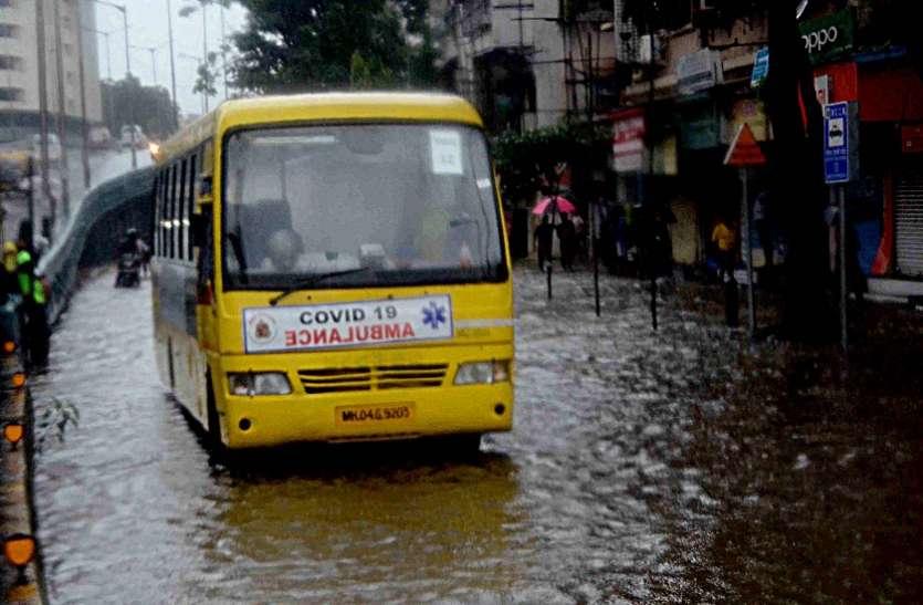 Mumbai News : मुंबई में 110 मिमी बारिश, नीचले क्षेत्रों में भर गया पानी