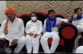 बसपा जॉइन करने के बाद कांग्रेस पर बरसे राजकिशोर सिंह, कहा ये मठाधीशों की पार्टी