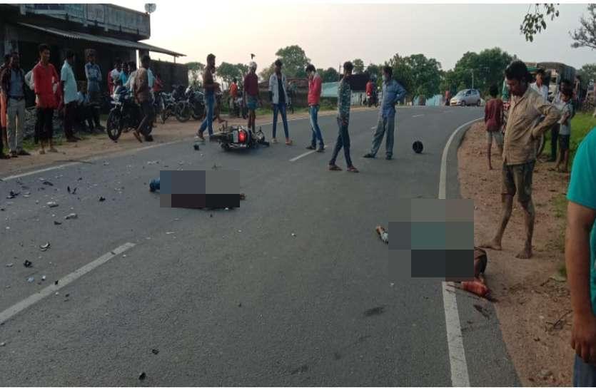 तेज रफ्तार ट्रक ने बाइक सवार 2 युवकों को दी दर्दनाक मौत, रिश्तेदार के घर से लौटने के दौरान हादसा