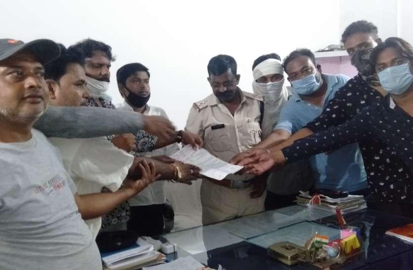 भाजपा के बाद कांग्रेस कार्यकर्ताओं ने ज्ञापन सौंप भाजपा कार्यकर्ताओं के खिलाफ कार्रवाई की मांग