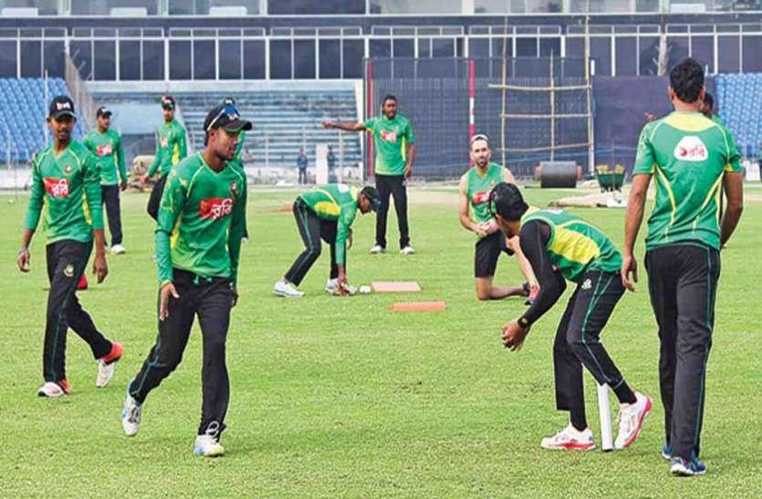 बांग्लादेश के 9 क्रिकेटर अभ्यास के लिए तैयार, आज से शुरू करेंगे चार जगहों पर अभ्यास