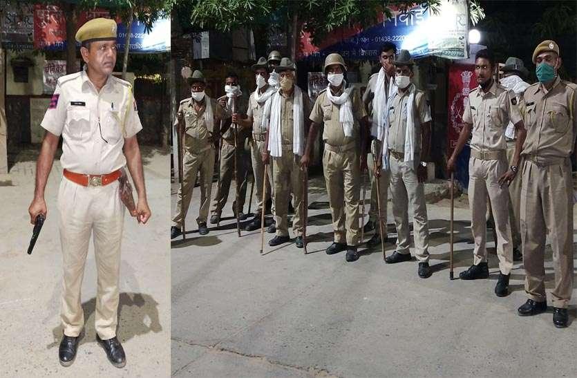 रातभर लोकेशन के पिछे दौड़ती रही पुलिस , नाकाबंदी के बाद भी पकड़ मे नही आए बदमाश
