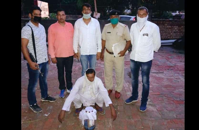 यूपी का मोहम्मद साफी हरियाणा में कर रहा नशे का कारोबार, 1.75 करोड़ रुपये की स्मैक संग पकड़ा गया