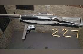 बाहुबली अतीक अहमद की पिस्टल व राइफल पुलिस ने किया बरामद, कई करीबियों के शस्त्र लाइसेंस निरस्त