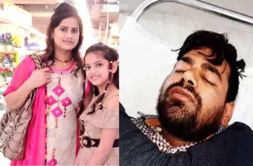 मां-बेटी की हत्या कर शवों को बेडरूम गाड़ने वाले कातिल को 24 घंटे में पुलिस ने एनकाउंटर में गोली मारकर किया पस्त
