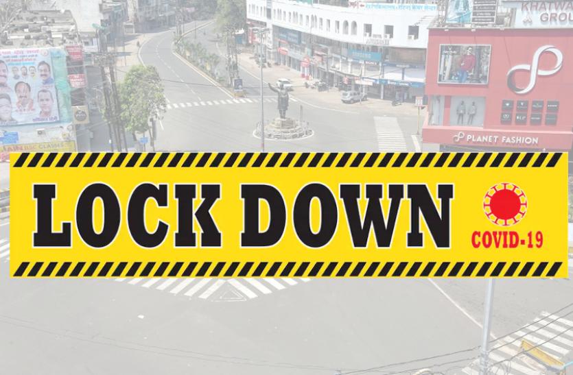 जबलपुर में आज शाम से लॉकडाउन, भूल कर न निकलें बाह, होगी पुलिस कार्रवाई