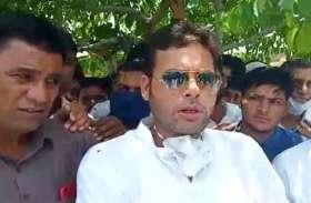 बाड़ाबंदी से पुलिस सुरक्षा में निवाई आए प्रशांत बैरवा, बोले-में कांग्रेस का सच्चा सिपाही