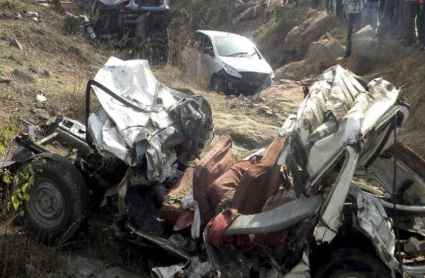 सड़क हादसे में 20 फीसदी की कमी, मृतकों की संख्या में भी 3.46 प्रतिशत की कमी