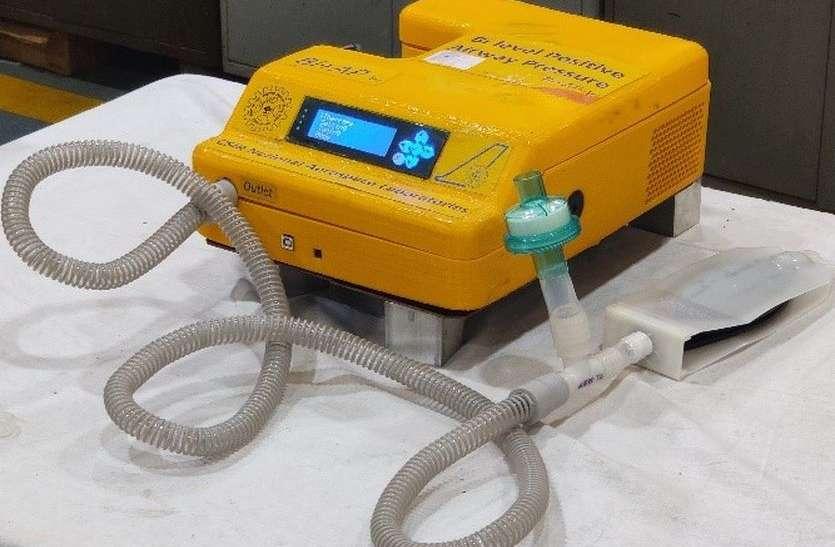 'स्वस्थ वायु' वेंटिलेटर का चिकित्सकीय परीक्षण जल्द