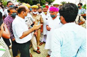 आक्रोशित किसानों का आंदोलन, दिल्ली कूच