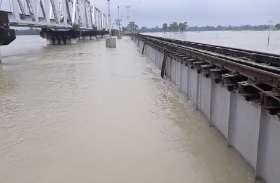 बिहार में बाढ़ का कहर, दरभंगा-समस्तीपुर रेल सेवा निरस्त