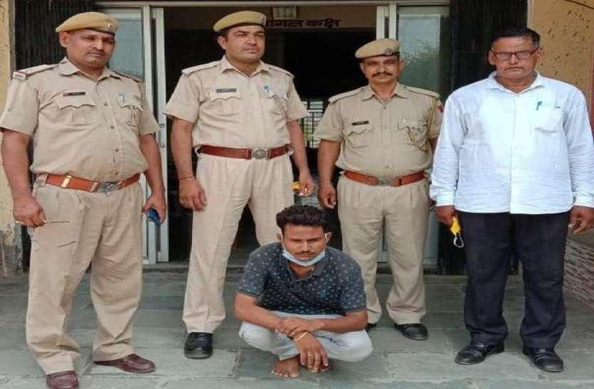 कर्जा चुकाने के लिए मुनीम ने की थी गोदाम में चोरी