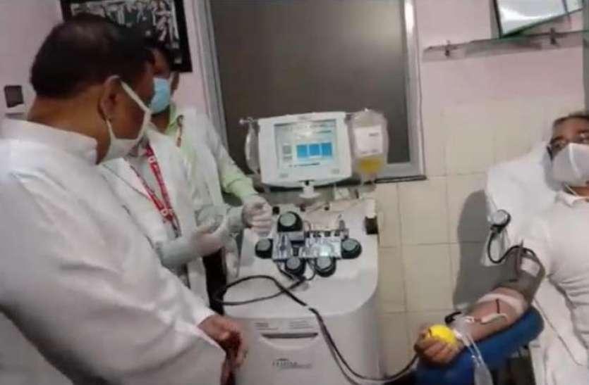 Good News: नोएडा में हुई प्लाजमा बैंक की शुरूआत, अब आसान होगा कोरोना मरीजों का इलाज
