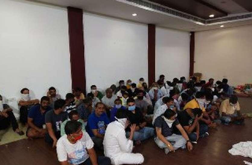 डबोक पुलिस की बीती रात बड़ी कार्रवाई, जुआ खेलते 59 गिरफ्तार, करीब 25 लाख बरामद