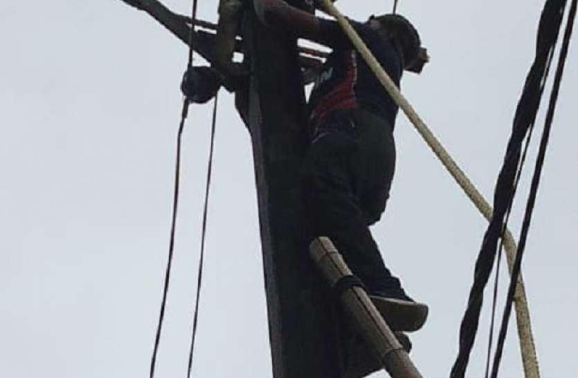 33 केवीए के 12 केन्द्रों 9 घंटे और 9 केन्द्रों पर 6 घंटे गुल रही बिजली, 126 से अधिक गांव हुए प्रभावित