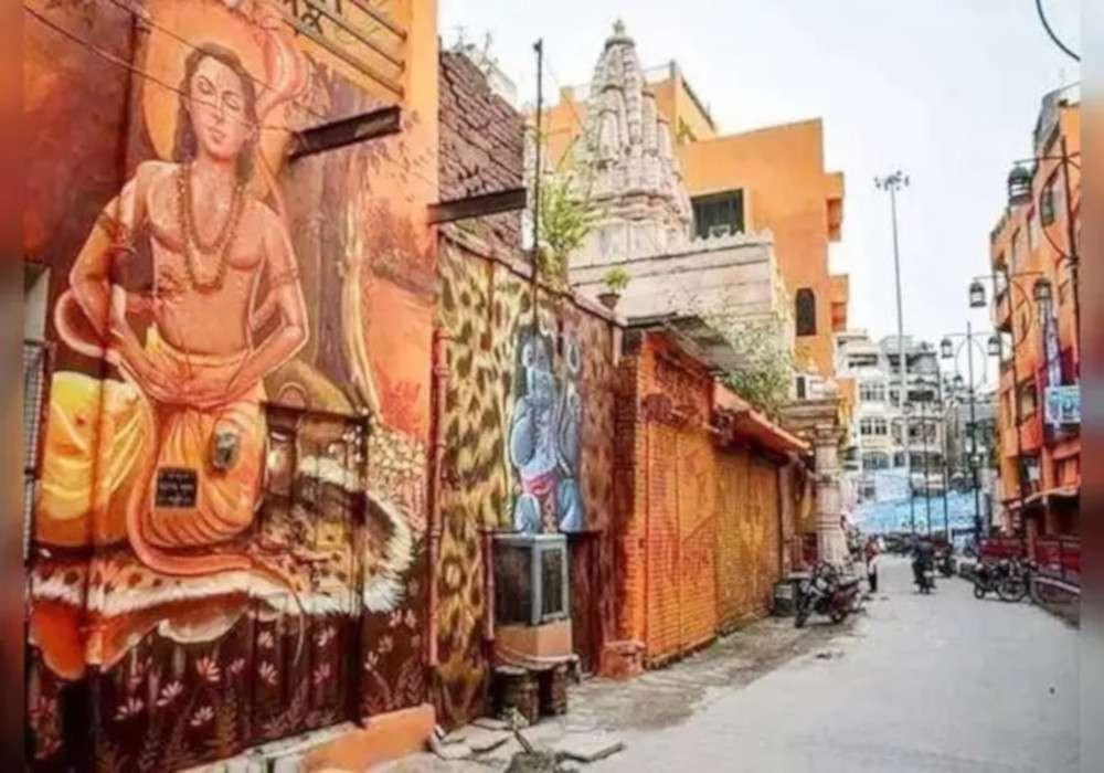 रोशन होगी रामनगरी अयोध्या, हेरिटेज सिटी का अहसास कराएंगी पेंटिग्स