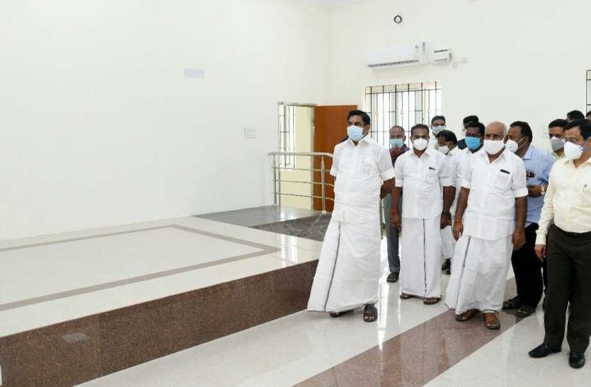 मुख्यमंत्री पलनीस्वामी ने नि:शुल्क मास्क वितरण योजना लांच किया