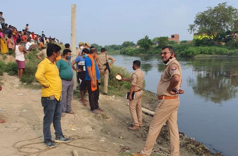 नाव से नदी पार करते समय किशोर डूबा, परिवार में मचा कोहराम