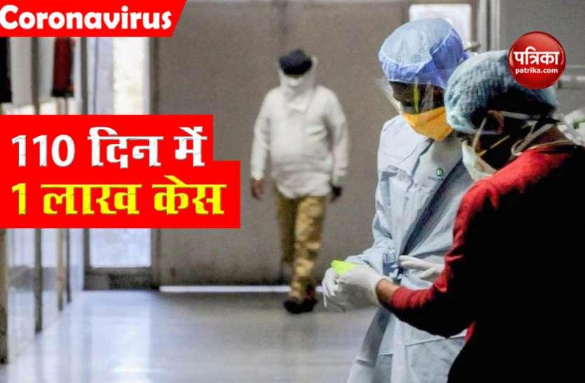 India में Coronavirus ने जानें कैसे पकड़ी रफ्तार, पहले 1 लाख केस 110 दिन में आए