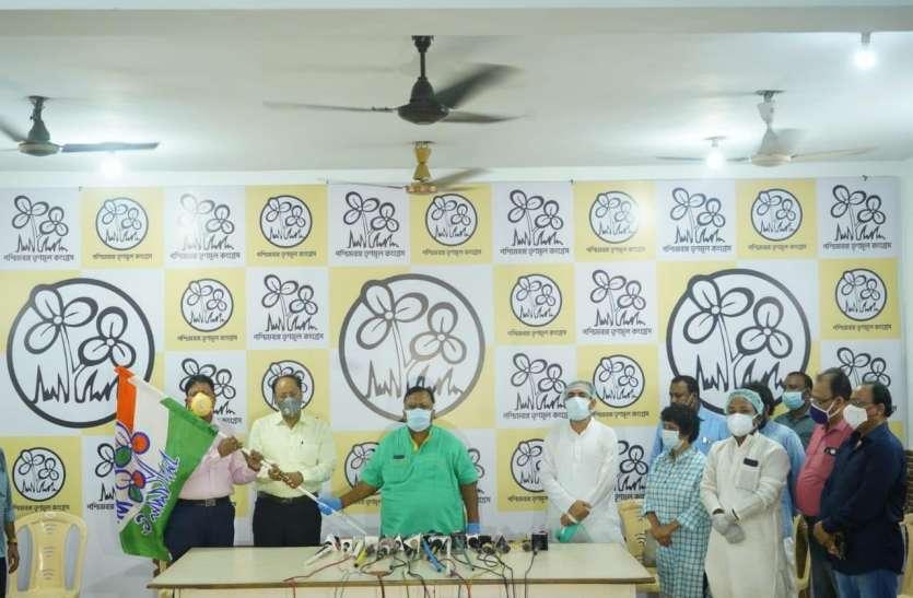 पूर्व विधायक भाजपा छोड़ वापस तृणमूल में लौटे