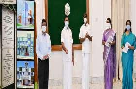मुख्यमंत्री ने विभिन्न परियोजनाओं की आधारशिला रखी
