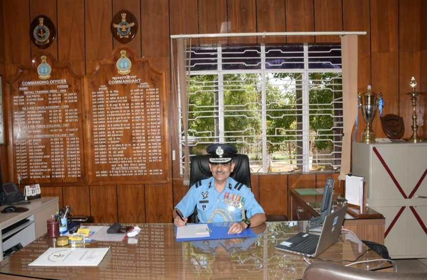 रजनीश वर्मा एयरफोर्स प्रशासनिक कालेज कोयम्बत्तूर के नए मुखिया