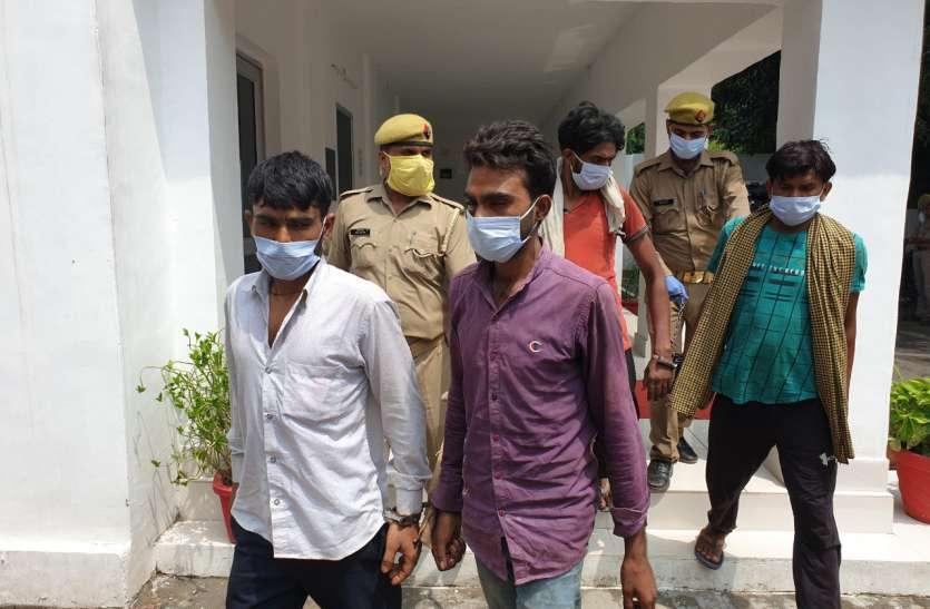 सहारनपुर पुलिस के हत्थे चढ़े शातिर अभियुक्त कई घटनाओं का खुलासा