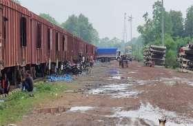 पंद्रह वर्षों बाद रेलवे मालगोदाम से रैक हुए लोड, नौ करोड़ रुपए की हुई आय
