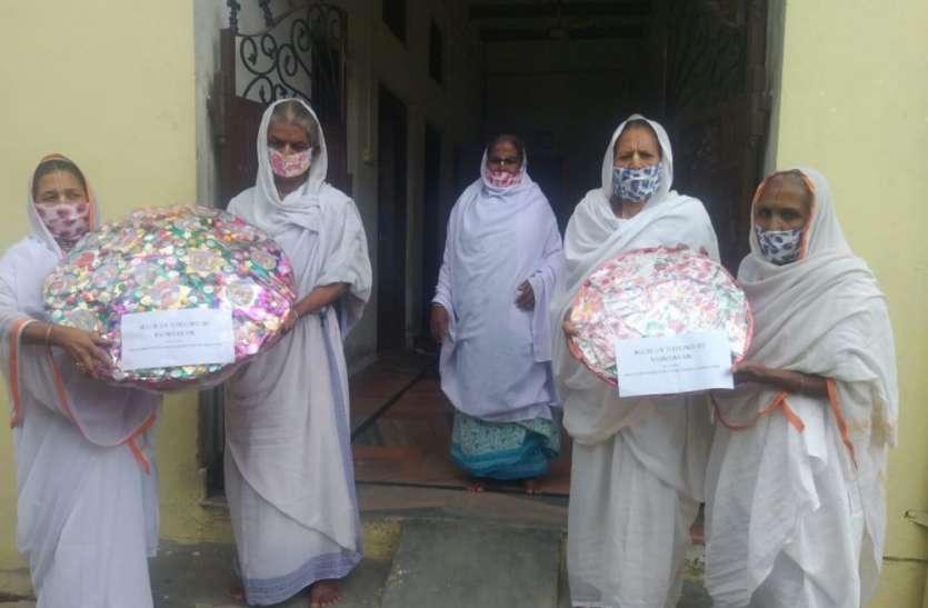 रक्षाबंधन पर वृन्दावन के निराश्रित माताएं पीएम मोदी को भेजेंगी 501 राखियां और मास्क