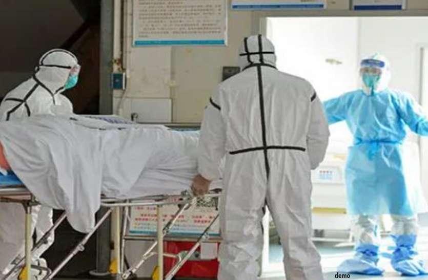 कोरोना पीड़ित पति को लेकर व्हील चेयर में घंटों तक घूमती रही पत्नी, रायपुर ले जाते समय हो गई मौत