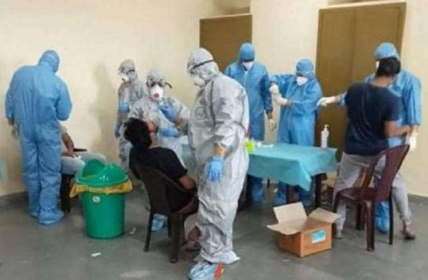 अलवर जिले में सुबह की रिपोर्ट में 104 कोरोना पॉजिटिव मिले, सबसे तेजी से बढ़ रही संक्रमितों की संख्या