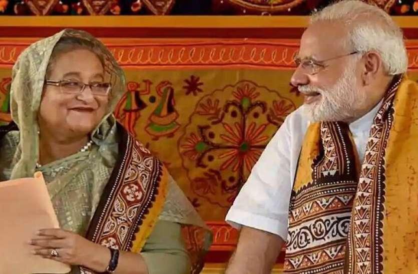 पीएम मोदी ने Bangladesh की प्रधानमंत्री शेख हसीना को लिखा पत्र, कोरोना से लड़ने के प्रयास को सराहा