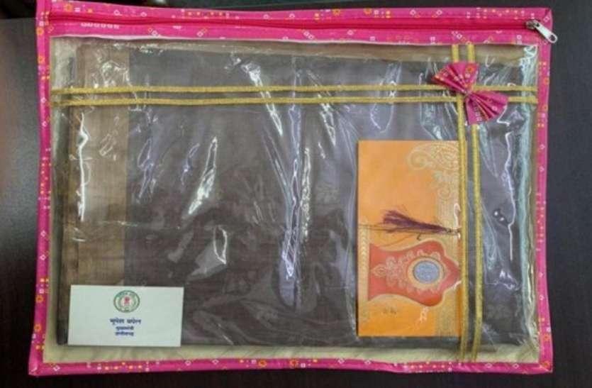 राज्यपाल उइके ने मुख्यमंत्री को भेजी राखी... तो भूपेश ने भावुक खत के साथ भेजे शगुन के साड़ी