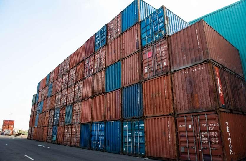 CONTAINER --- प्रदेश में प्रति माह  5  हजार कंटेनर्स की कमी, निर्यात हो रहा प्रभावित