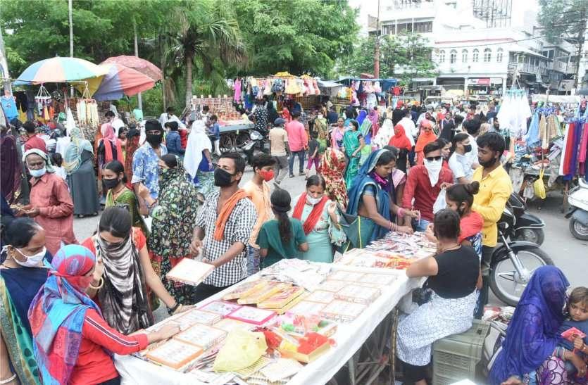 ब्रेकिंग: आज रात 8 बजे तक खुली रहेंगी राखी-मिठाई की दुकानें