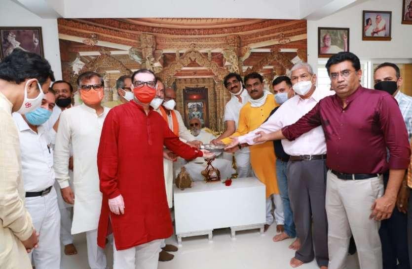 Ahmedabad News : राम मंदिर के भूमि पूजन के लिए जैन समाज की ओर से 24 किलो रजत भेंट